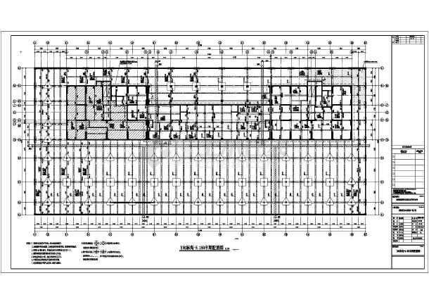 珠海37层商业大厦结构工程全套图纸(带甲方修改图)-图1