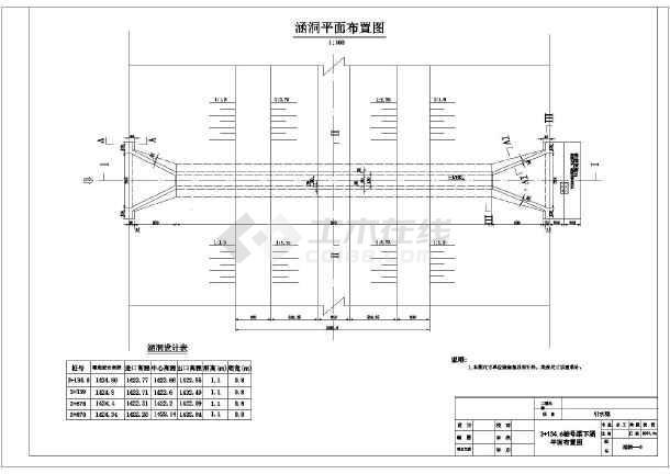 涵洞盖板钢筋图_技施阶段某水利工程涵洞典型结构钢筋图_cad图纸下载-土木在线