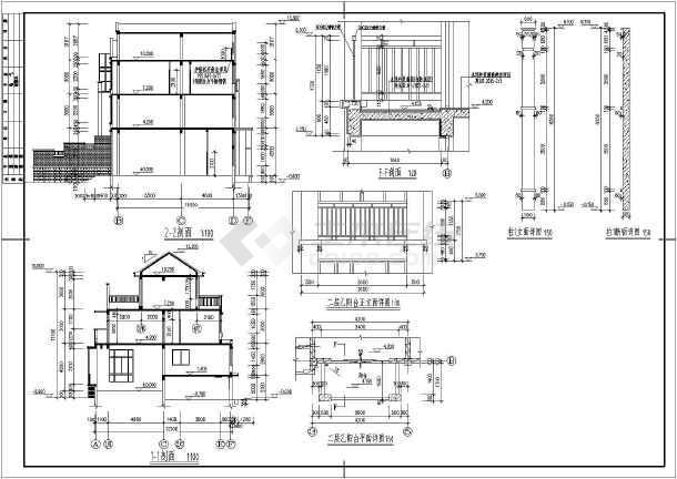 欧式土木_欧式图纸cad图纸下载-别墅v土木tcl别墅液晶电视电路图图片