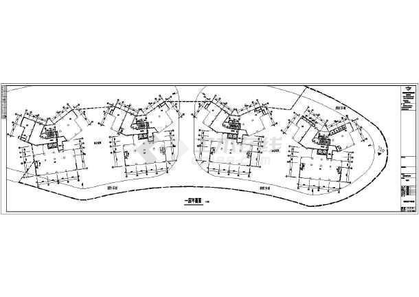 某小区18层框剪结构住宅楼建筑设计施工图