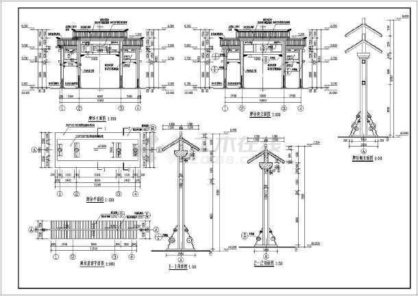 南方农村平房设计图