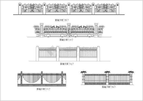 北京凤凰城意思标高铁艺_cad图纸下载cad什么是tm竖向图纸围栏中图片