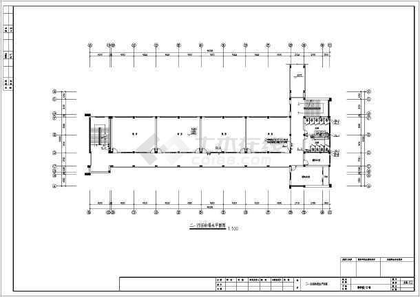 某私立学校全套建筑给排水施工设计图