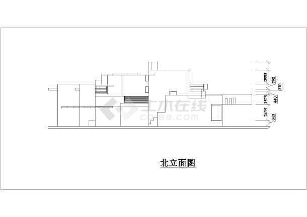 别墅建筑设计方案图纸  简介:赖特-流水别墅,非常经典,教科书级别的.