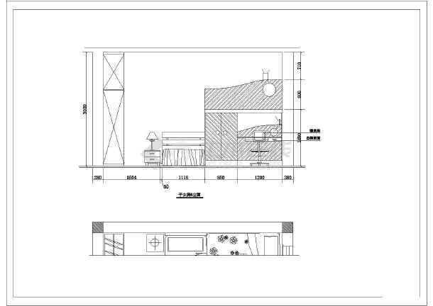 三层别墅室内装修工程施工设计图纸