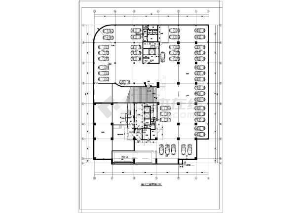 某地人防建筑设计施工图(共11张)图片2
