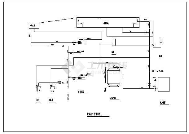 沼气池设计图cad_沼气池设计图cad大全免费下载