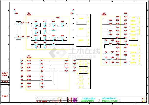 某热电厂2XX135135MW系统配电工程施工图纸(百余瓦力图纸图原理图片