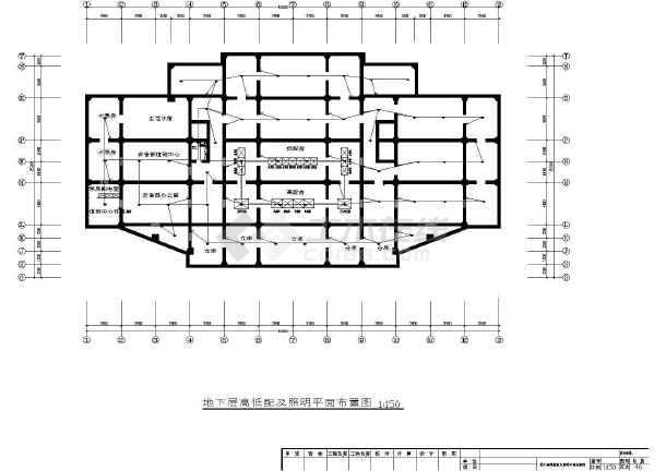 某地框架结构十九层宾馆电气设计施工图