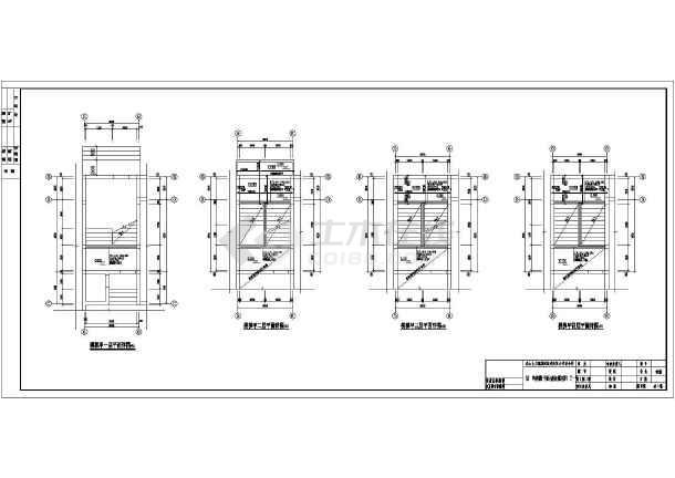 结构设计总说明,基础平面布置图