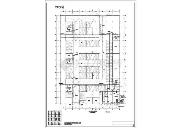 图纸 电气图纸 商业建筑 商场商铺建筑电气设计施工图 某三层建材商贸