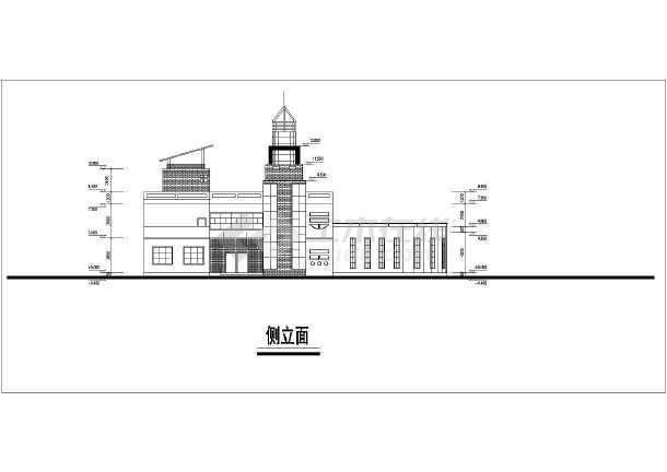 二层及三层幼儿园,平面布局有个性,图纸内容包含:各层平面图,屋顶平面