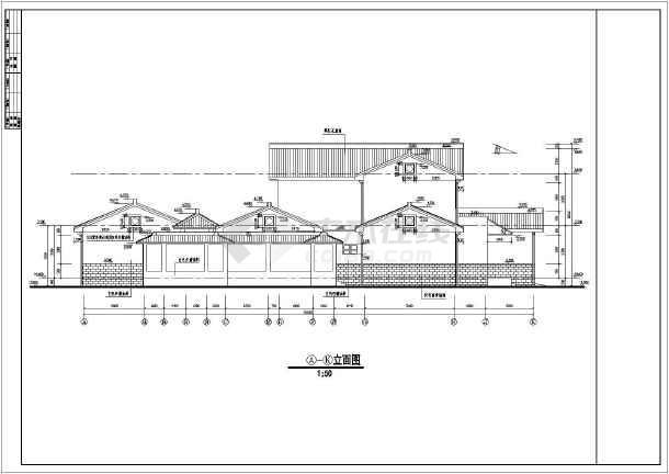 某地中式古典别墅全套设计施工图纸