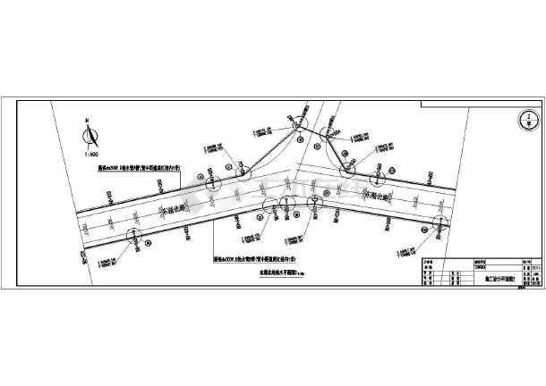 给水囹�_市政给水工程施工设计图