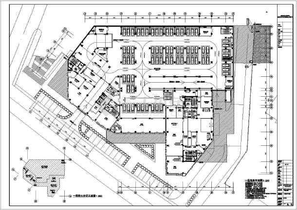 公司办公楼平面图