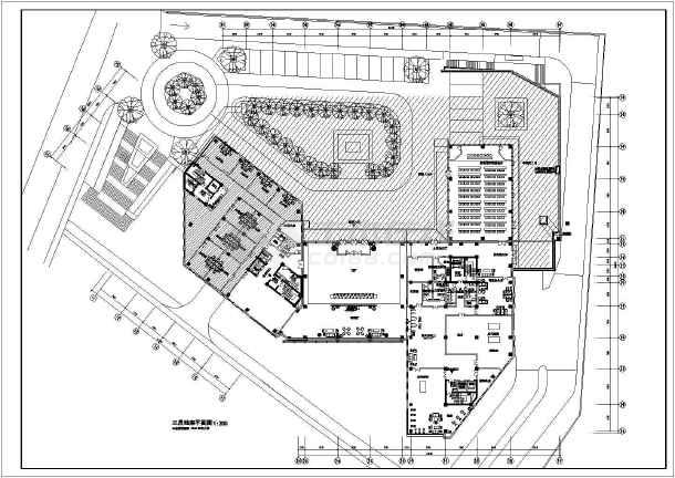 某公司办公楼平面设计图