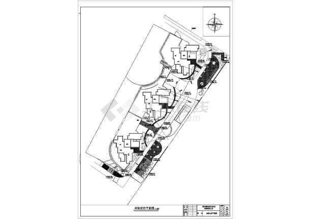 图纸 园林设计图 园林景观套图 施工图阶段套图 某小区景观绿化工程