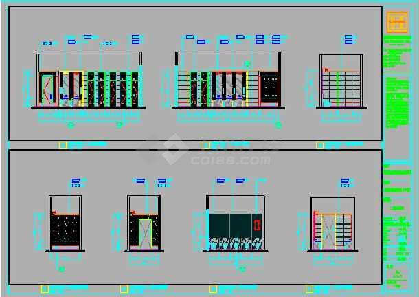 【永隆】安溪迎宾馆建筑设计施工图纸_cad图马路南边别墅v图纸图纸图片