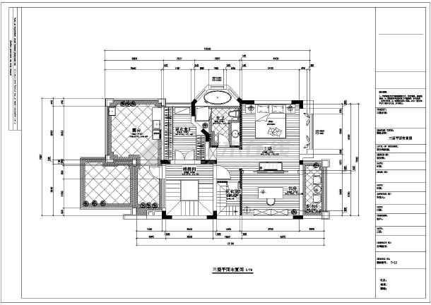 东易日盛欧式三层别墅是呃逆装修设计图