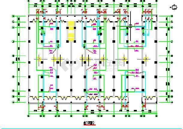 【广西】某小型住宅楼给排水设计图纸-图2
