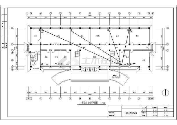 某电气四层办公楼图纸v电气图纸_cad企业warframe图纸买哪里在图片