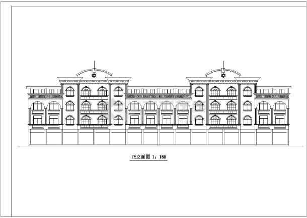 欧式别墅立面设计