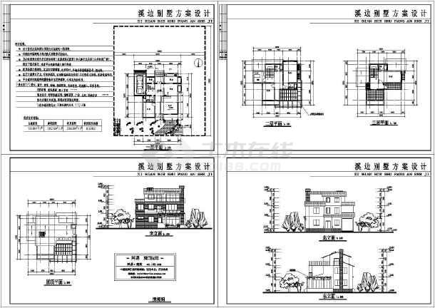 图纸一层小别墅设计农村_农村一层小图纸设计做如何f22别墅图片