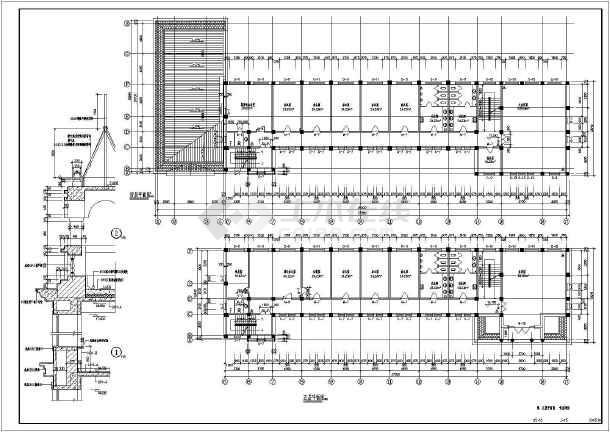 某五层社保综合办公楼建筑结构设计施工图