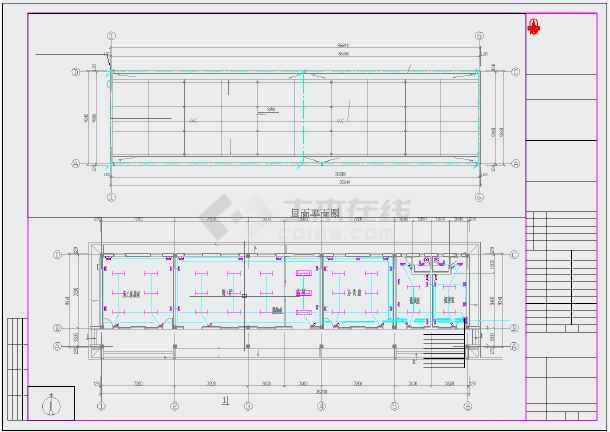 某全套图纸建筑设计工厂(含楼房、给排水、电层一v全套厂房暖通云南图片