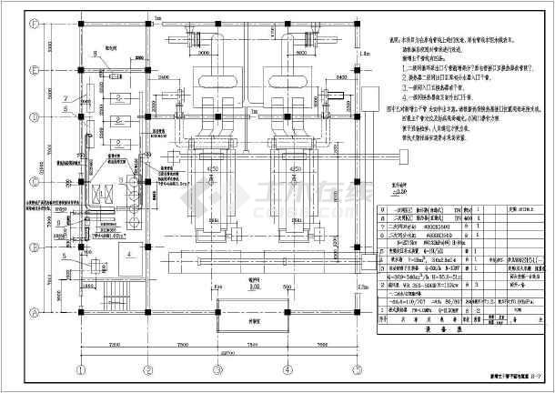 直供工程房改换热站图纸设计施工锅炉logo的广告六合无绝对片