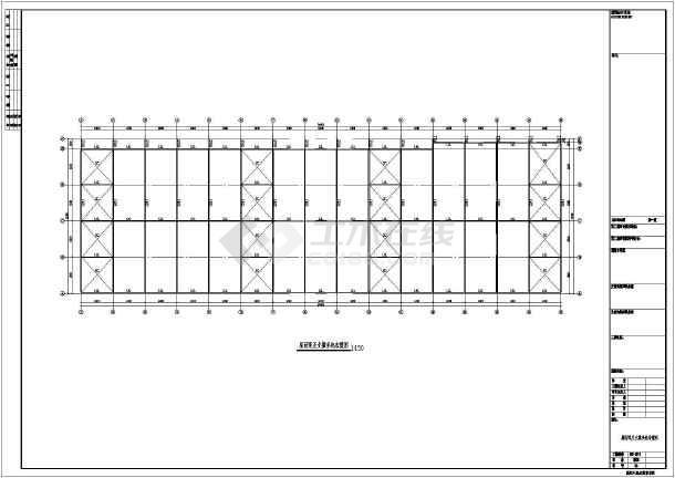 包含:钢结构设计总说明,电焊焊缝标准节点,基础及地梁平面图及大样,地
