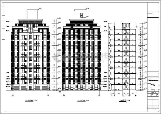 【沈阳】12层混凝土剪力墙结构住宅楼建筑施工图纸