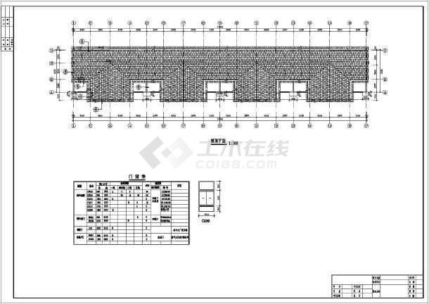 某地三层框架结构联排别墅建筑设计施工图
