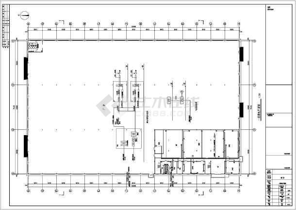 某二层大空间钢结构厂房电气设计施工图