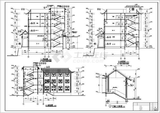 相关专题:钢筋混凝土结构施工图