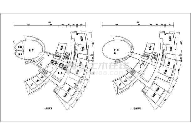 某地9班制经典幼儿园建筑方案设计图纸