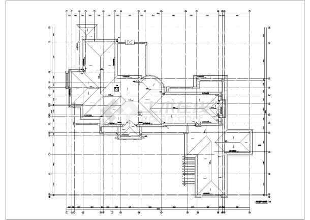 某豪华别墅给排水施工图-图2