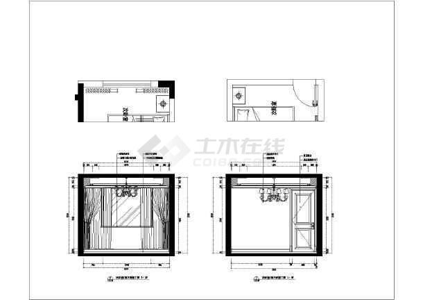 合肥滨湖欧式花样洋房室内家庭装修施工图