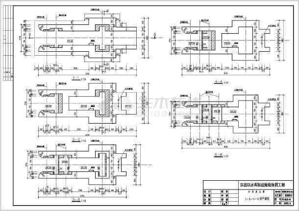 水利工程设计图 引调水工程