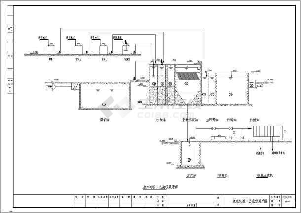 80吨每天磷化废水处理工程详细图纸图片1