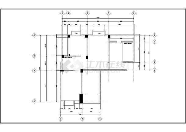某田园风格三室一厅装修设计图