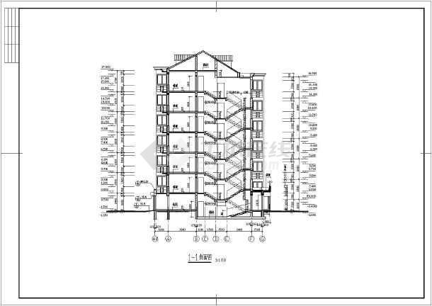 某带地下高层车库教程设计图(共13张)_cad机械cad图纸平面图住宅图片