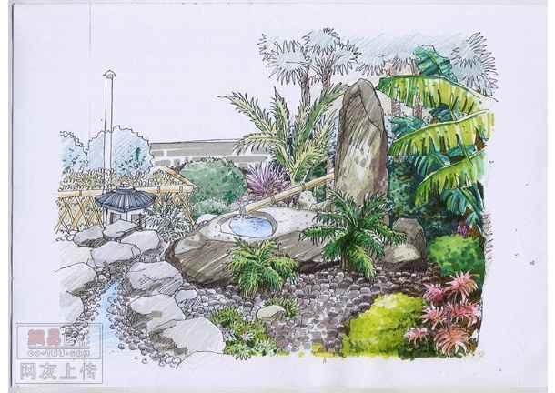 图纸 园林设计图 园林景观套图 设计方案阶段套图 私家别墅方案  简介