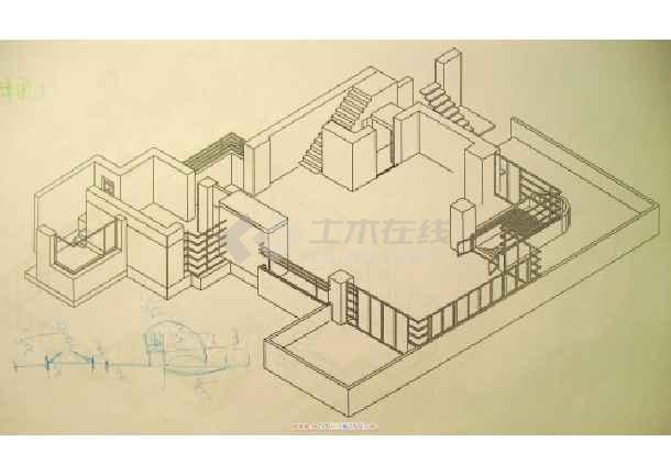 相关专题:流水别墅模型图纸