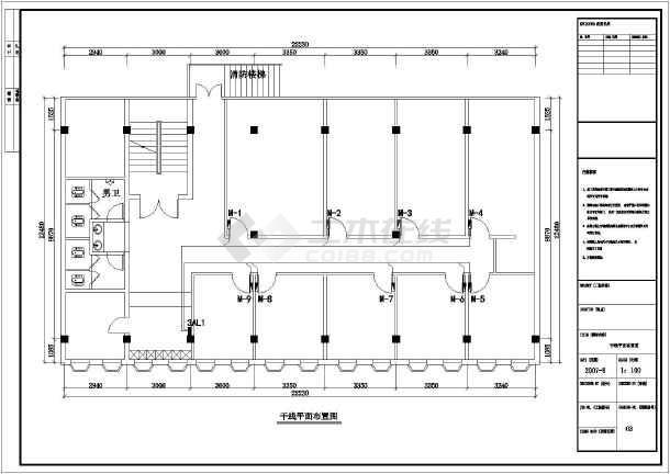 某地ktv全套建筑设计安装施工图纸图片