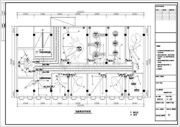 某地ktv全套建筑设计安装施工图纸