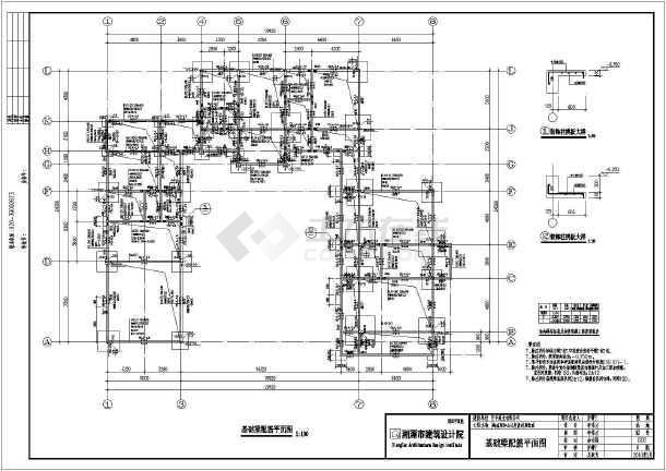 海南高级框架异型柱结构别墅设计施工图