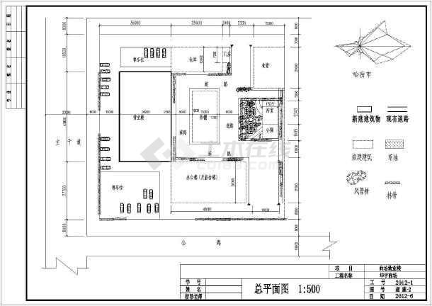 南方某地区三层小图纸建筑设计图纸图(cad方案地中海商场折叠桌v图纸图片
