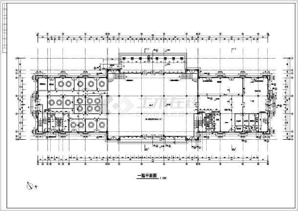 某地三层欧式酒店建筑施工图图片