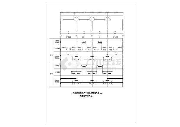 建筑结构图 结构说明大样图块 结构设计说明 超实用超完整无梁楼盖